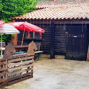 Écurie privée Club House à Villeneuve-Loubet